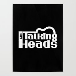 The Talking Heads Poster