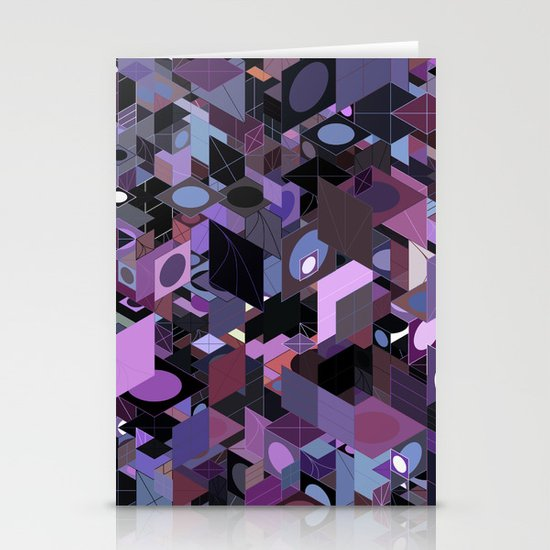 Panelscape: colours from Eye of the Beholder  Stationery Cards