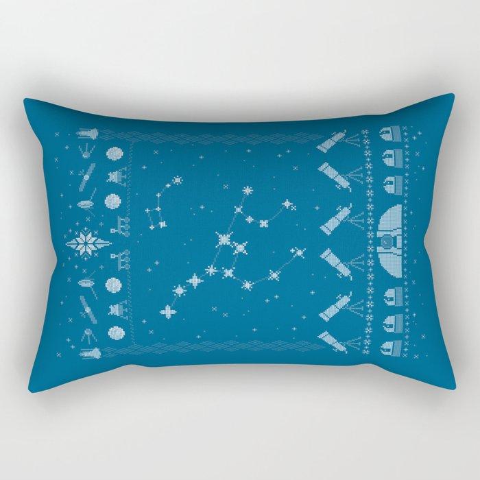 Ugly Astronomy Sweater Rectangular Pillow