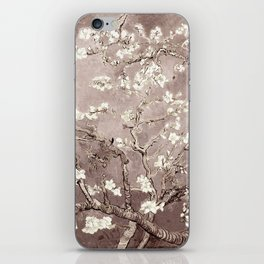 Van Gogh Almond Blossoms Beige Taupe iPhone Skin