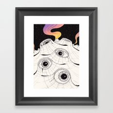planets have ears Framed Art Print