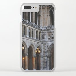 spring in vienna 6 Clear iPhone Case