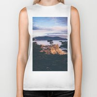 california Biker Tanks featuring California by Bethany Young Photography