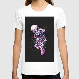 Astronaut Black Colors T-shirt
