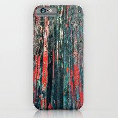 Red Splinters iPhone 6s Slim Case