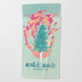 Gift of Mother Nature Beach Towel