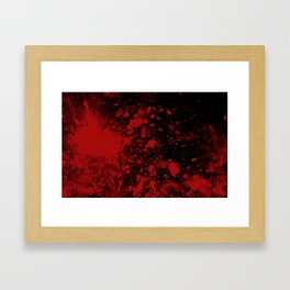 bloodstained two Framed Art Print