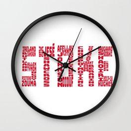 Stoke City 2017-2018 Wall Clock