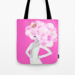 Cotton Candy Queen Tote Bag