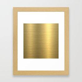 gold home decor Framed Art Print