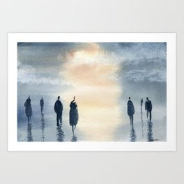 Factorial of Seven! Art Print