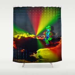Funny world - Clown 2 Shower Curtain