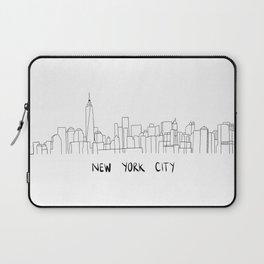 New York City Skyline 2 Laptop Sleeve