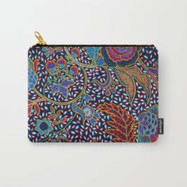 Tahitian Tropical Print Carry-All Pouch