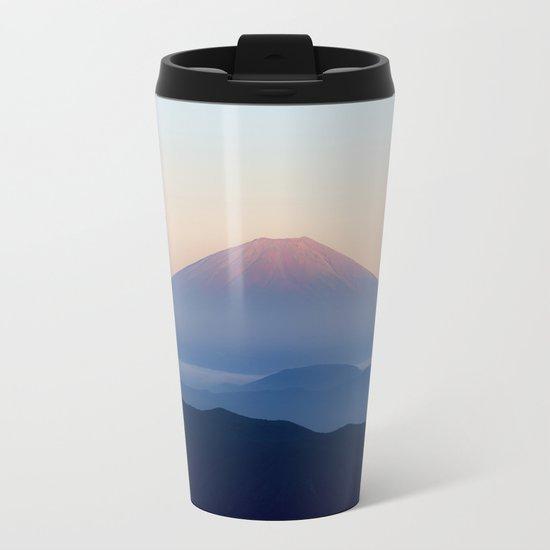 Mt. Fuji, Japan Metal Travel Mug