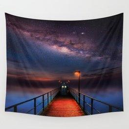 Tardis Art Light Inside Wall Tapestry