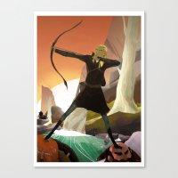 legolas Canvas Prints featuring Legolas by maracass