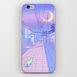 Kyoto Nights iPhone Skin