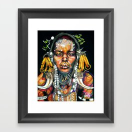 African '93 Framed Art Print