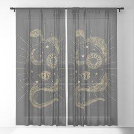Shakti Snake Energy Sheer Curtain