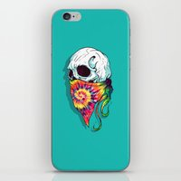 hipster iPhone & iPod Skins featuring Hipster by Steven Toang