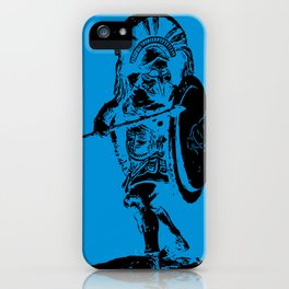 Greek Hoplite - Ancient Warfare iPhone Case