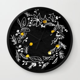 Joyof Christmas Wall Clock
