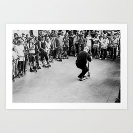 Skate Series – XI Art Print