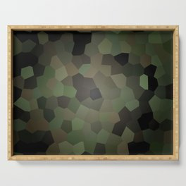 Camo Glass Serving Tray