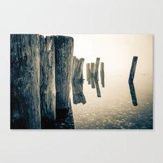 Foggy Ocean Canvas Print