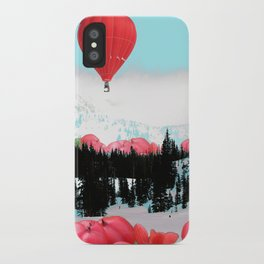 Snowy Glow iPhone Case