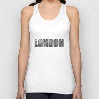 london Tank Tops featuring LONDON  by mark ashkenazi