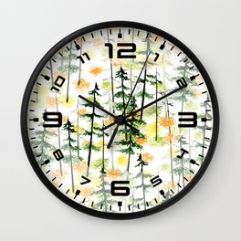 Winter Wonderland 1 Wall Clock