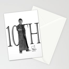 10th Doctor Stationery Cards