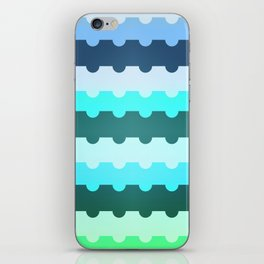 plateaus iPhone Skin