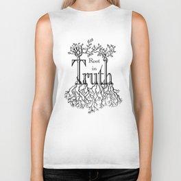 Root in Truth Biker Tank