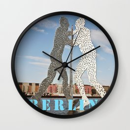 MOLECULMAN in BERLIN Wall Clock