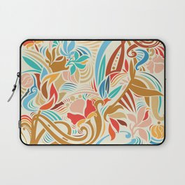 Abstract Florals Laptop Sleeve