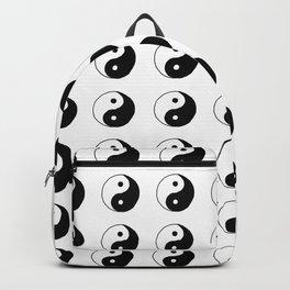 Yin Yang Pattern Backpack