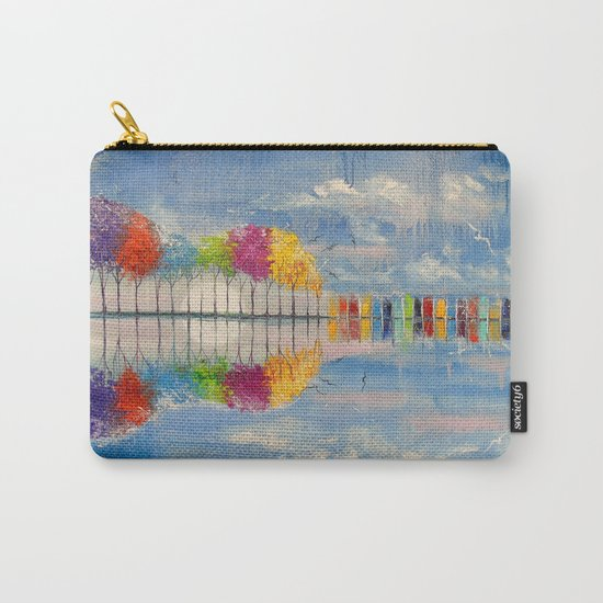 The sound of the guitar Carry-All Pouch