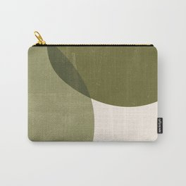 Minimal Semicircles Carry-All Pouch