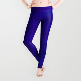 Ultra Violet to Indigo Blue Ombre Leggings