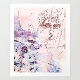 Identität Art Print