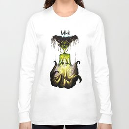 Octopus Voodoo Witch Long Sleeve T-shirt