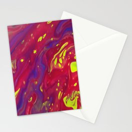 Fluid Abstract 10 Stationery Cards
