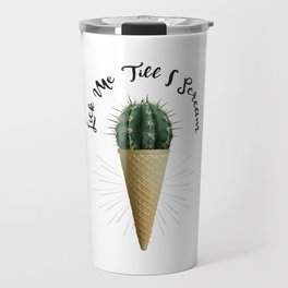 Ice Cream Cactus Lick Me Travel Mug