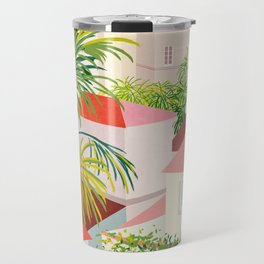 beautiful village Travel Mug