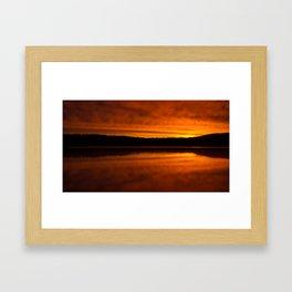 Golden Sunrise I Framed Art Print