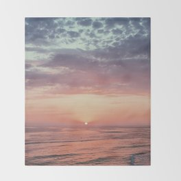 Summer Skies Throw Blanket