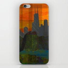 Sunset City (Chicago) iPhone Skin